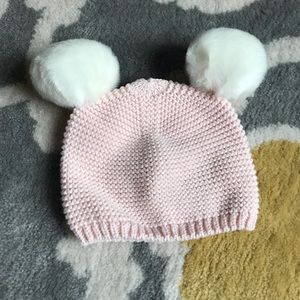 Girl winter hat, 12-18 months
